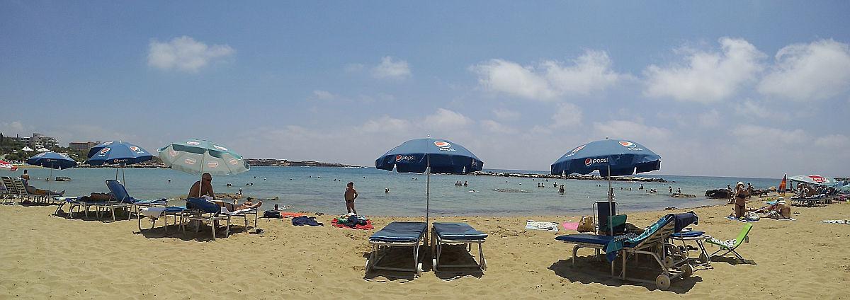 Afbudsrejser Cypern - Strandudsigt