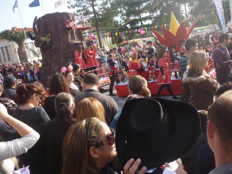 Karnevalsoptog i Paphos 2014