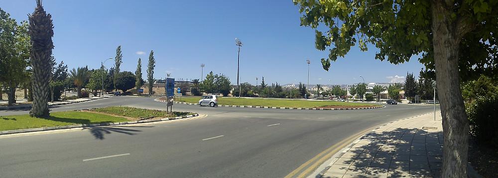Rundkørsel i Cypern
