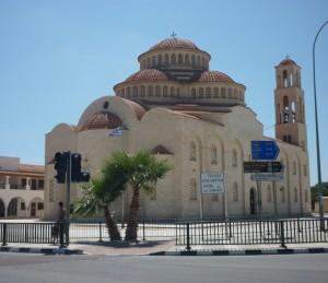 Den store Kirke i Kato Paphos (nær Universal og havnen)