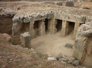 Historiske kongegrave (Tomb of Kings) i Paphos, Cypern