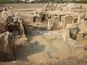 Kongegravene - udgravningsplads i Paphos, Cypern