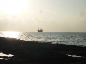MV Demetrios II er grundstødt uden for Paphos .