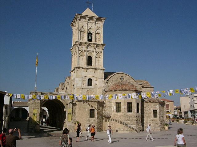 Larnacas berømte kirke - Saint Lazarus Church