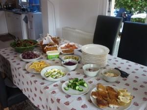Juletam-tam med de andre danskere i Paphos