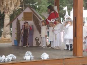 Mikkeline var en af englene, som viste sig for hyrderne på marken