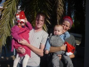 Familien Madsen julen 2014