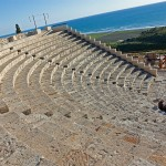 Kourion teater sydvest for Limassol. (kilde: wiki media - forfatter Wknight94 talk)