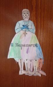Der går 7 lørdage fra fasten starter (grøn mandag) til den slutter ved påske - cyprioterne anvender en syvbenet (fastende) dame til at tælle ned - hver lørdag klippes der et ben af.