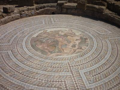 Mosiakgulv i Pafos