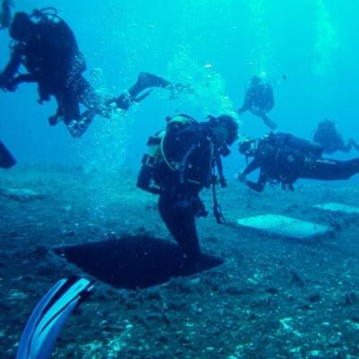 Måske et dykkertur til Zenobia vraget kunne friste.